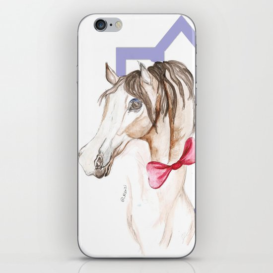 horse 3 iPhone & iPod Skin