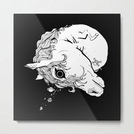 Uniqueorn Metal Print