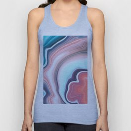 Beauty agate mineral gem stone Unisex Tank Top