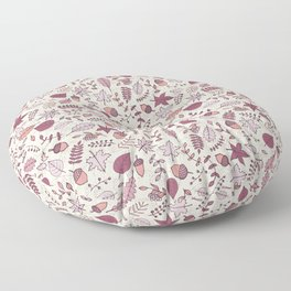 Autumn Leaves Floor Pillow