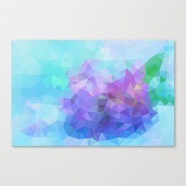 Blue and Violet 040914 Canvas Print