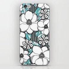 Midnight Magnolias iPhone & iPod Skin