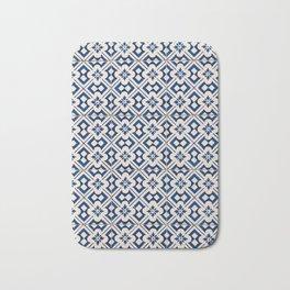 Blue Portugal Tiles #3 Bath Mat