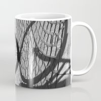 bicycle Mugs featuring bicycle by habish