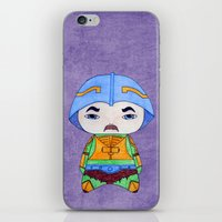 conan iPhone & iPod Skins featuring A Boy - Man-at-arms by Christophe Chiozzi