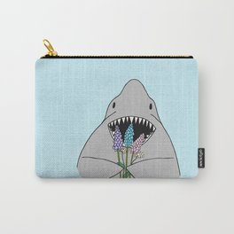 Happy Shark Carry-All Pouch