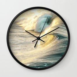 Nautical Crash Wall Clock