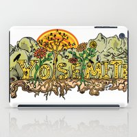 yosemite iPad Cases featuring Yosemite  by Geryes