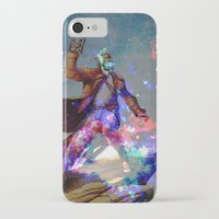 star lord iPhone & iPod Cases featuring Star-lord by KP Designs