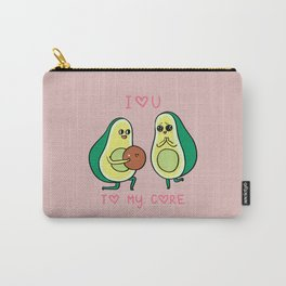 Love U to My Core Avocado Carry-All Pouch