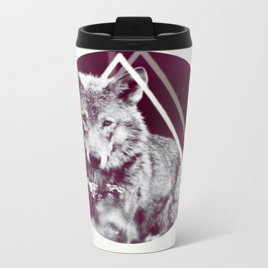 WOLF I Metal Travel Mug