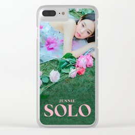 SOLO - Jennie - BLACKPINK Clear iPhone Case