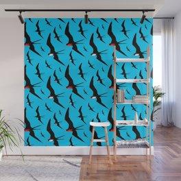 Frigate Birds Majestic Flight Wall Mural