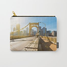 Seventh Street Bridge To Pittsburgh, Pennsylvania Carry-All Pouch
