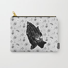 praying hands tattoo Carry-All Pouch