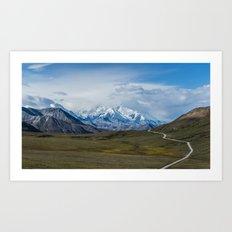 Mount McKinley Denali National Park Alaska Art Print
