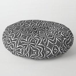 Black and White Tribal Print Floor Pillow