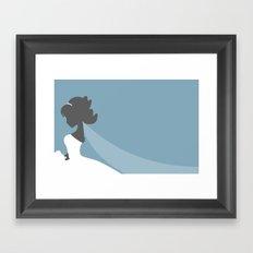 Bride's Day Framed Art Print