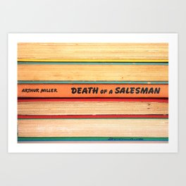 Death of A Salesman Art Print
