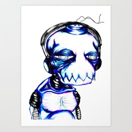 Heartbrochio Art Print