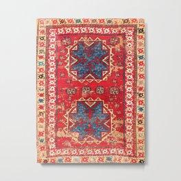 Bergama Northwest Anatolian Rug Metal Print