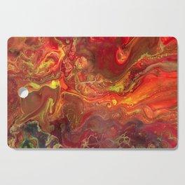Acrylic Pour #45 Lava-Love Cutting Board
