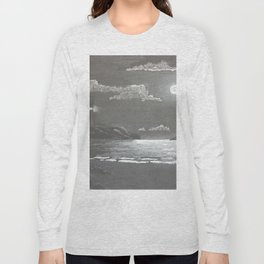 Quiet Night Long Sleeve T-shirt