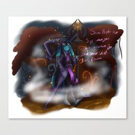 Reflect - Veigar of the present (no shadow) Canvas Print