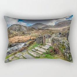 Gate to Snowdonia Rectangular Pillow