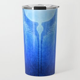 Vikings Valkyrie Wings of Protection Storm Travel Mug