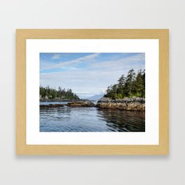 Sitka Islands Framed Art Print