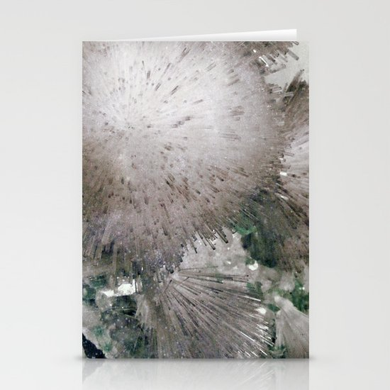 Furry Crystal  Stationery Cards