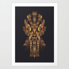 Art Robot Art Print