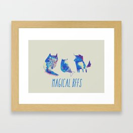 magical bffs Framed Art Print