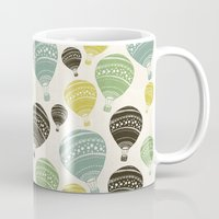 balloons Mugs featuring Balloons by spinL