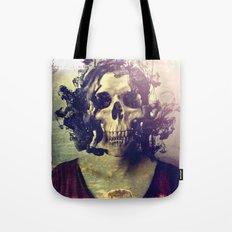Miss Skull Tote Bag