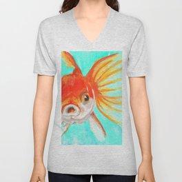 A Goldfish Kind of Day Unisex V-Neck