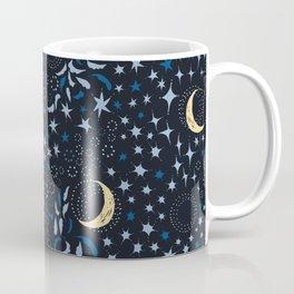 Moon Among the Stars - Stars At Night Version Coffee Mug