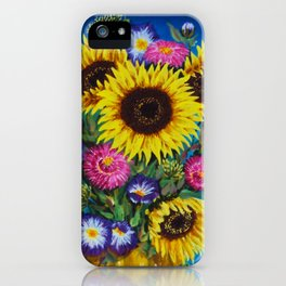 Bright Flowes iPhone Case