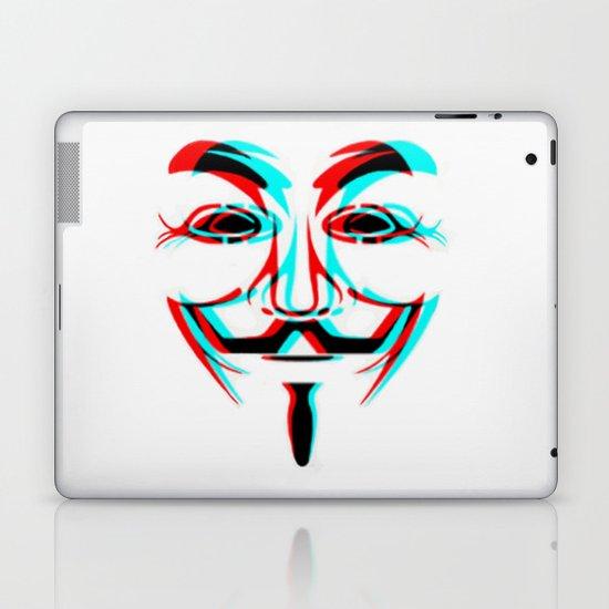 Anonymous.2 Laptop & iPad Skin