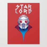 starlord Canvas Prints featuring Who? Starlord by Fenomeno