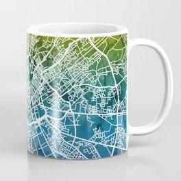 Manchester England Street Map Coffee Mug