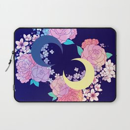 Floral Moon Laptop Sleeve