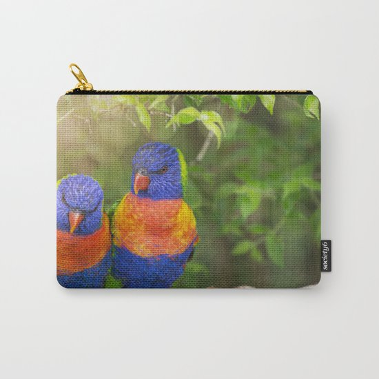 Birds in Love Carry-All Pouch