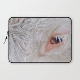 Cow's Eye Lash Laptop Sleeve