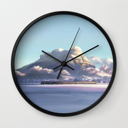 Passing Train Inspired from 5 centimeters per second Wall Clock