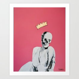 immortal marylin Art Print