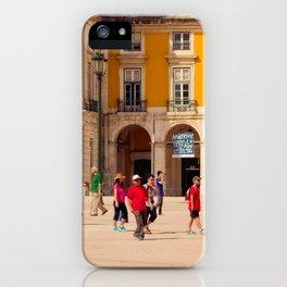 Lisbon Place architecture iPhone Case
