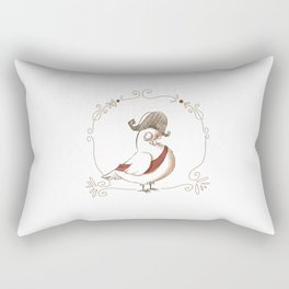 pigeon empire Rectangular Pillow