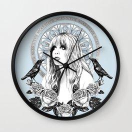 Stevie Nicks Angel Of Dreams Wall Clock